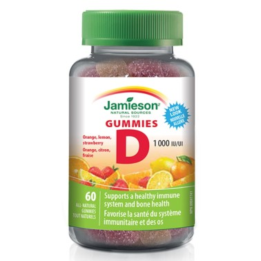 JAMIESON VITAMINA D3 Gummies 60 caramelle in vendita su Nutribay.it