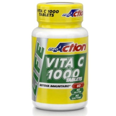 PROACTION VITAMINA C 1000 TABLETC 60 cpr in vendita su Nutribay.it