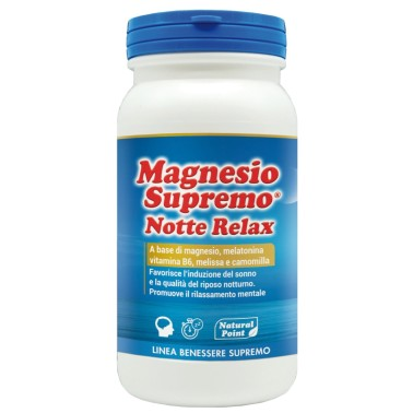 MAGNESIO SUPREMO NOTTE RELAX 150 gr in vendita su Nutribay.it