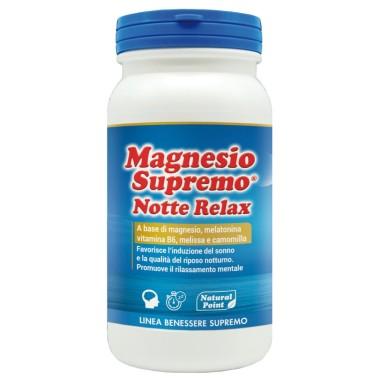 MAGNESIO SUPREMO NOTTE RELAX 150 gr in vendita su Nutribay.it