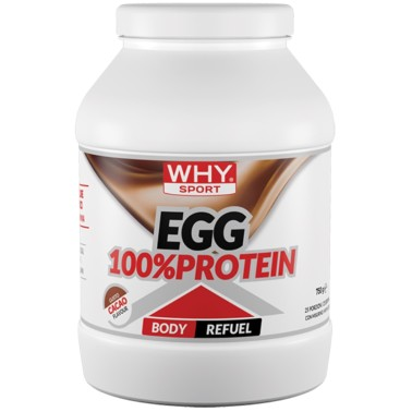 WHY SPORT EGG 100% PROTEIN 750 gr in vendita su Nutribay.it