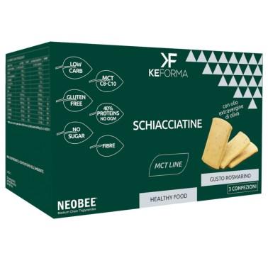 KEFORMA MCT SCHIACCIATINE 3 confezioni da 30 gr in vendita su Nutribay.it