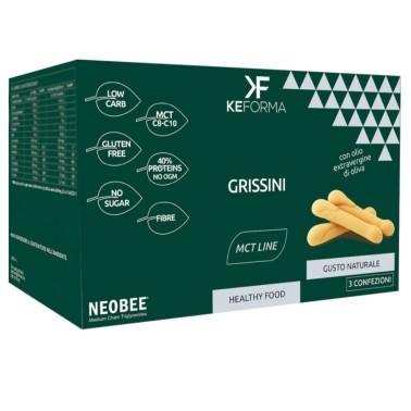 KEFORMA MCT GRISSINI 3 confezioni da 30 g in vendita su Nutribay.it