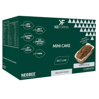 KEFORMA MCT MINI CAKE 3 confezioni da 30 gr in vendita su Nutribay.it