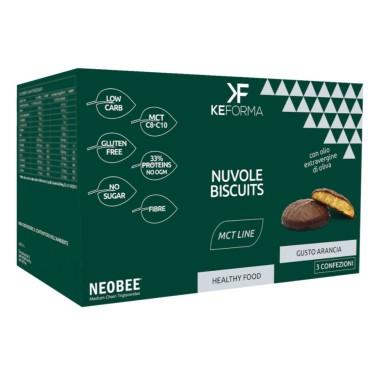 KEFORMA MCT NUVOLE BISCUITS 3 confezioni da 40 g in vendita su Nutribay.it