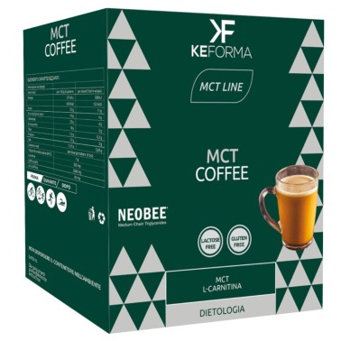 KEFORMA MCT COFFEE 14 bustine da 18,7 gr in vendita su Nutribay.it