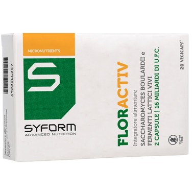 SYFORM ADVANCED NUTRITION FLORACTIV 20 vegicaps in vendita su Nutribay.it
