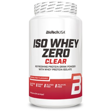BIOTECH USA ISO WHEY ZERO CLEAR 1362 gr in vendita su Nutribay.it