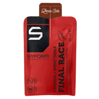 SYFORN ADVANCED NUTRITION FINAL RACE GEL 50 ml in vendita su Nutribay.it