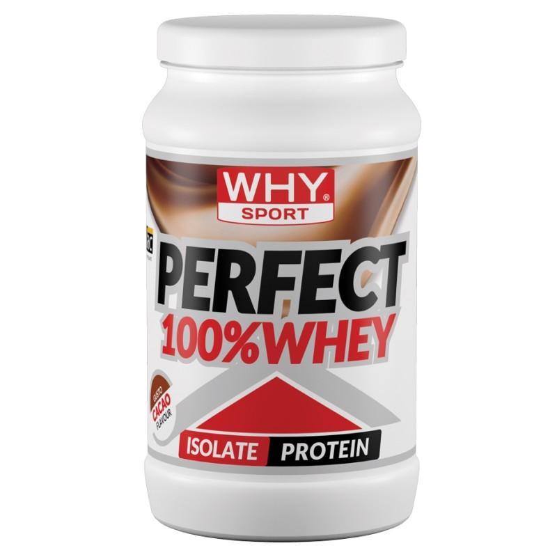 WHY SPORT 100% PERFECT WHEY 450 g PROTEINE SIERO DEL LATTE ISOLATE in vendita su Nutribay.it