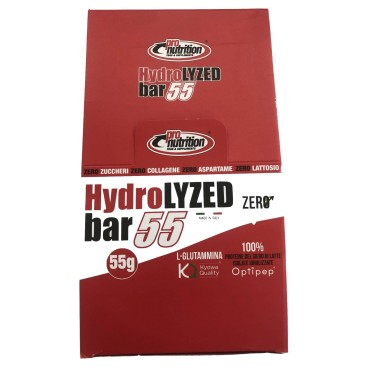 PRONUTRITION HYDROLYZED BAR 50% 24 BARRETTE in vendita su Nutribay.it