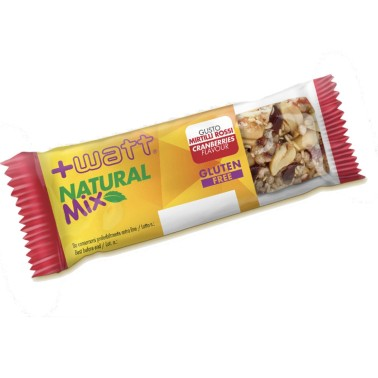 +WATT NATURAL MIX 1 BARRETTA DA 30 GR in vendita su Nutribay.it