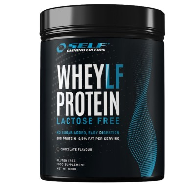 SELF OMNINUTRITION VHEY PROTEIN LACTOSE FREE 1000 gr in vendita su Nutribay.it