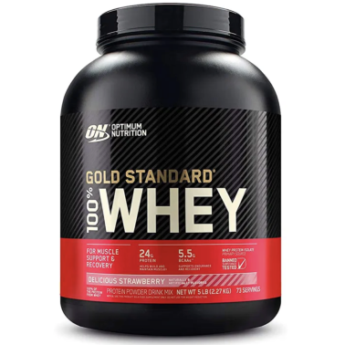 ON Optimum Nutrition 100% Whey Gold Standard 2270 g Proteine del Siero Del Latte in vendita su Nutribay.it