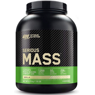ON Optimum Nutrition Serious Mass 2730 g Gainer Proteine Whey Creatina in vendita su Nutribay.it