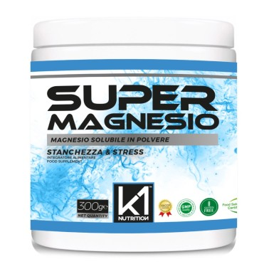 K1 NUTRITION SUPER MAGNESIO 300 gr in vendita su Nutribay.it