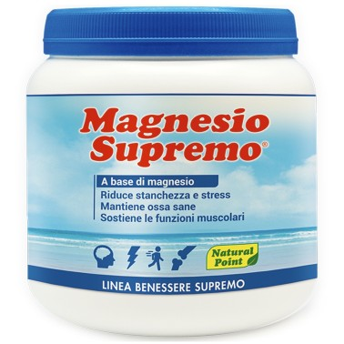 NATURAL POINT MAGNESIO SUPREMO 300 gr in vendita su Nutribay.it