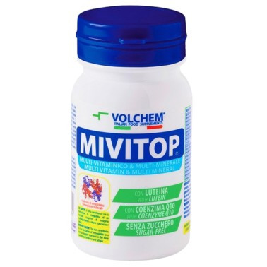 VOLCHEM MIVITOP MULTIVITAMINICO MULTIMINERALE 30 cpr in vendita su Nutribay.it