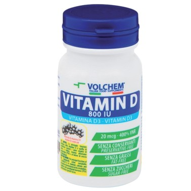 VOLCHEM VITAMIN D 100 cpr in vendita su Nutribay.it