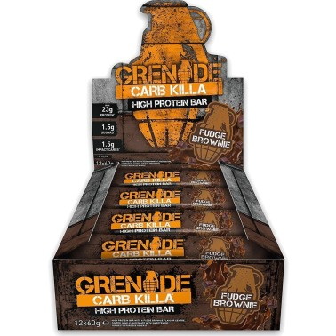 GRENADE CARB KILLA BOX DA 12 BARRETTE in vendita su Nutribay.it