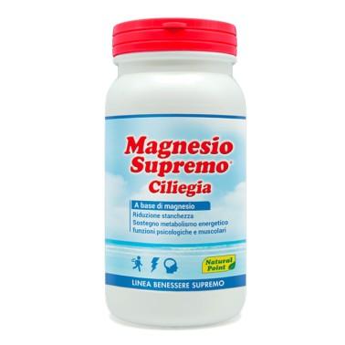 NATURAL POINT MAGNESIO SUPREMO GUSTO CILIEGIA 150 gr. in vendita su Nutribay.it