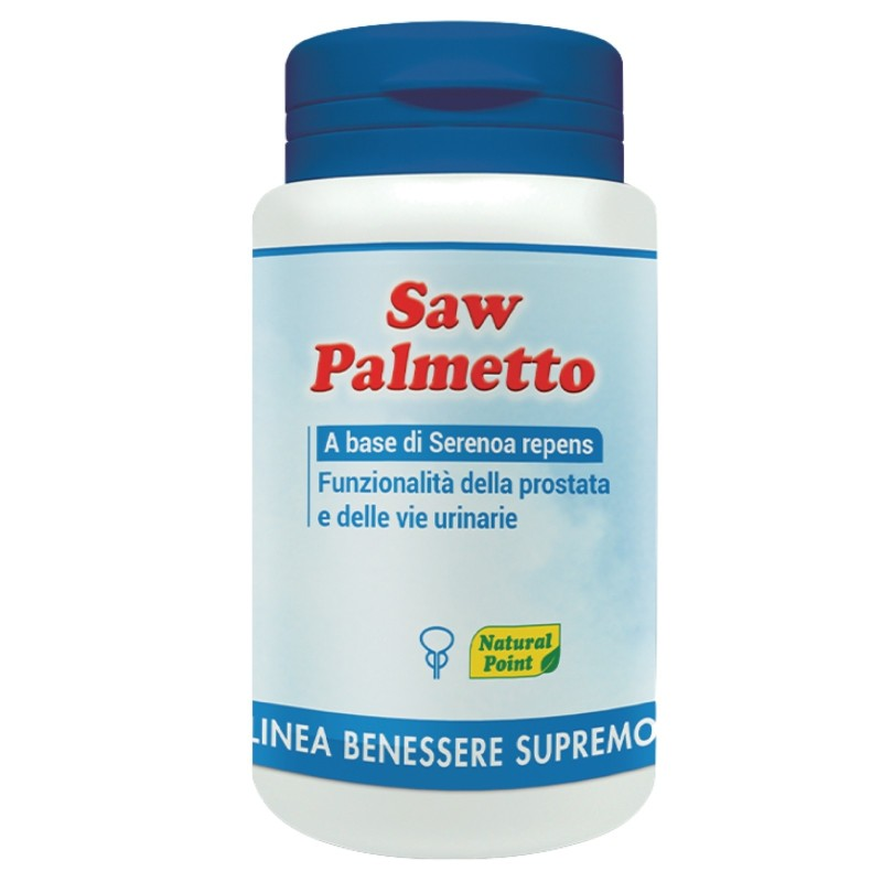 NATURAL POINT SAW PALMETTO 60 caps in vendita su Nutribay.it