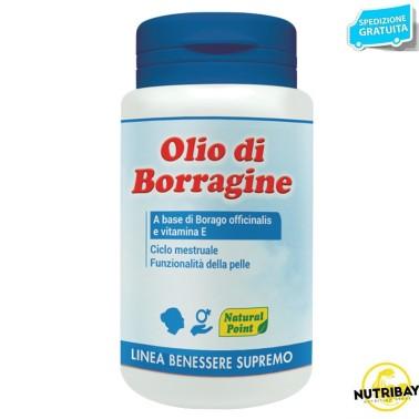 NATURAL POINT OLIO DI BORRAGINE 100 perle in vendita su Nutribay.it