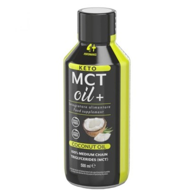 4+ NUTRITION KETO MCT OIL+ 500 ml in vendita su Nutribay.it