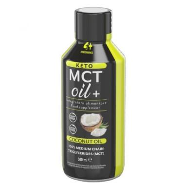 4+ NUTRITION KETO MCT OIL+ 500 ml in vendita su Nutribay.it