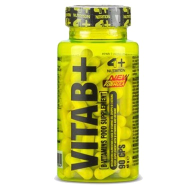 4+ NUTRITION VITA B+ 90 caps in vendita su Nutribay.it