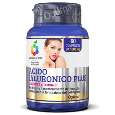 OPTIMA ACIDO IALURONICO PLUS 60 cpr in vendita su Nutribay.it
