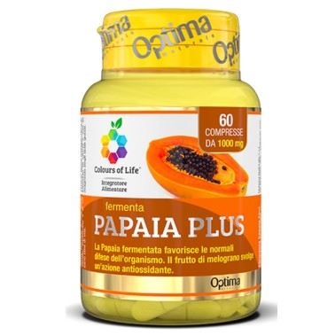 OPTIMA PAPAIA PLUS 60 cpr in vendita su Nutribay.it