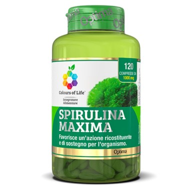 OPTIMA SPIRULINA MAXIMA 120 cpr in vendita su Nutribay.it