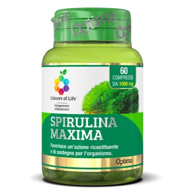 OPTIMA SPIRULINA MAXIMA 60 cpr in vendita su Nutribay.it