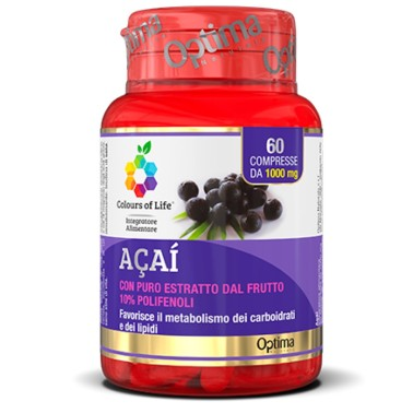OPTIMA ACAI 60 cpr in vendita su Nutribay.it
