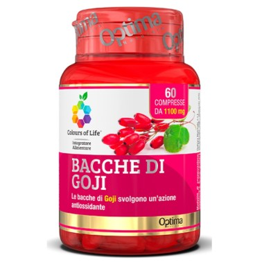 OPTIMA BACCHE DI GOJI 60 cpr in vendita su Nutribay.it