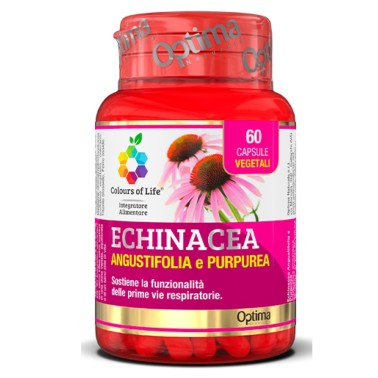 OPTIMA ECHINACEA PURPUREA E ANGUSTIFOLIA 60 caps in vendita su Nutribay.it