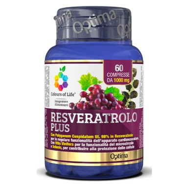 OPTIMA RESVERATROLO PLUS 60 cpr in vendita su Nutribay.it