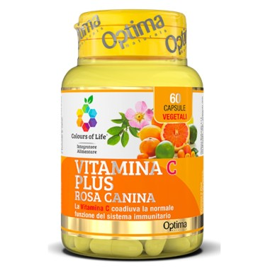 OPTIMA VITAMINA C PLUS CON ROSA CANINA 60 caps in vendita su Nutribay.it