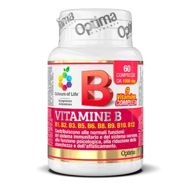 OPTIMA VITAMINE B COMPLEX 60 cpr in vendita su Nutribay.it