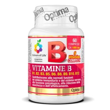 OPTIMA VITAMINE B COMPLEX 60 cpr in vendita su Nutribay.it