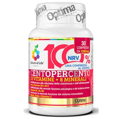 OPTIMA CENTOPERCENTO 30 cpr in vendita su Nutribay.it