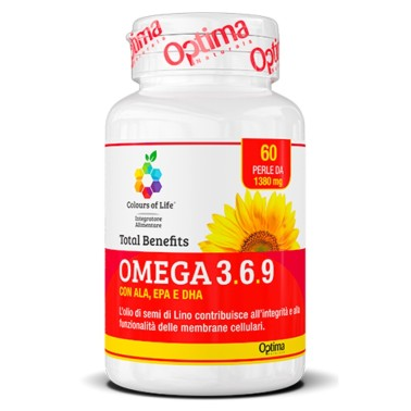 OPTIMA OMEGA 3.6.9 TOTAL BENEFIT 60 perle vegetali in vendita su Nutribay.it