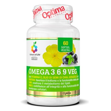 OPTIMA OMEGA 3.6.9 VEG 60 softgel in vendita su Nutribay.it