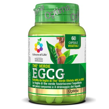 OPTIMA THÈ VERDE EGCG 60 caps in vendita su Nutribay.it