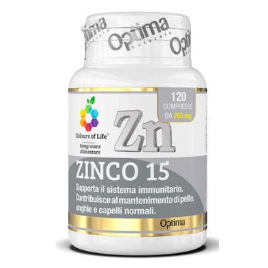 OPTIMA ZINCO 15 120 cpr in vendita su Nutribay.it
