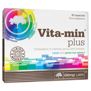 OLIMP VITA-MIN PLUS 30 caps in vendita su Nutribay.it