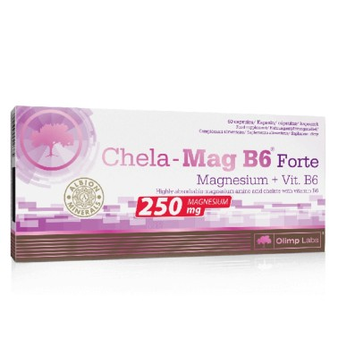 OLIMP CHELA-MAG B6 FORTE 60 caps in vendita su Nutribay.it