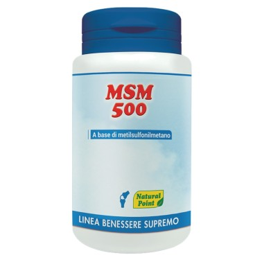 NATURAL POINT MSm 500, 100 caps in vendita su Nutribay.it