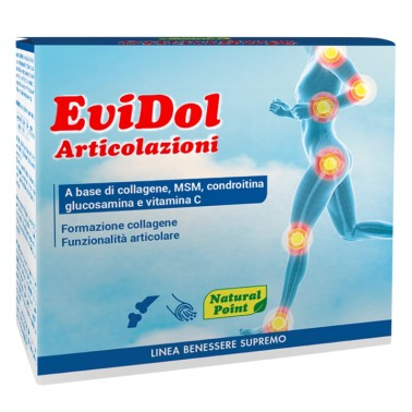 NATURAL POINT EVIDOL ARTICOLAZIONI 30 bustine in vendita su Nutribay.it